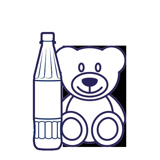 Auch Kinder sollten früh lernen, ausreichend viel Mineralwasser zu trinken.
